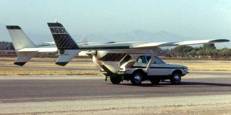 Mucidini Öldüren Hayal: Uçan Araba!