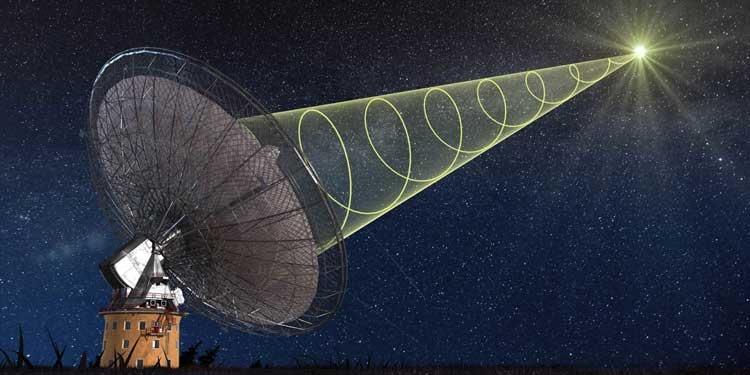 Gökada Dışından Gelen Radyo Dalgaları Tespit Edildi