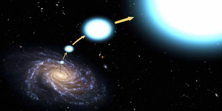 Samanyolu'ndan 4,3 Milyon km/s Hızla Uzaklaşan Bir Yıldız Belirlendi