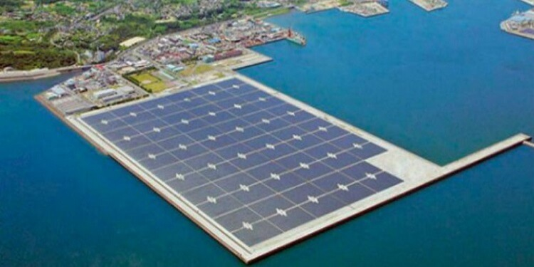 Japonya'da Su Üzerine İki Adet Devasa Güneş Enerjili Elektrik Santrali Kuruldu