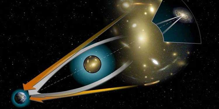 Kütleçekimsel Işık Sapması Kuantum Fiziği ile Hesaplandı