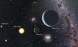 Üç Süper Gezegenin Yörünge Edindiği Yeni Bir Yıldız Sistemi Keşfedildi