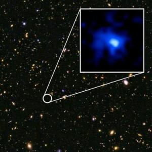 Görsel : NASA, ESA, P. Oesch, I. Momcheva, ve 3D-HST , HUDF09/XDF ekipleri