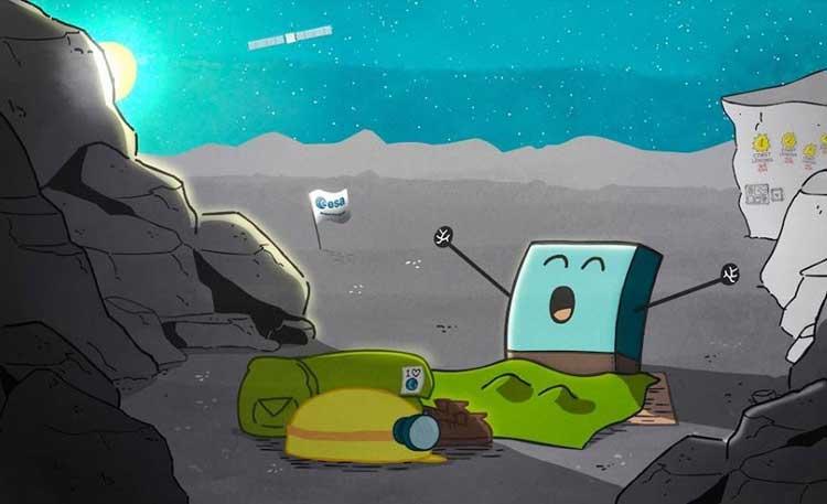 """7 Aylık Uykunun Ardından """"Philae"""" Uzay Sondası Uyandı!"""