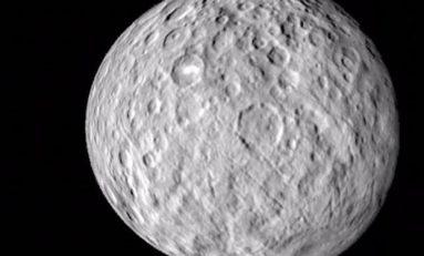 Cüce gezegen Ceres'e hiç bu kadar yaklaşmamıştık