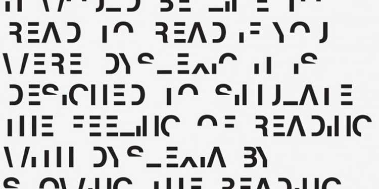 Disleksi Benzeşimli Yazı Tipi