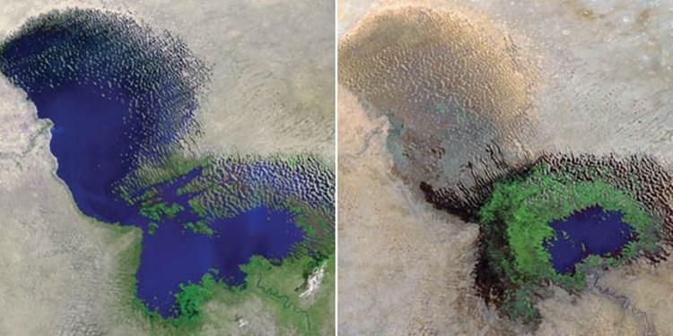 Mega-Çad Gölü düşünülenden de hızlı kurudu