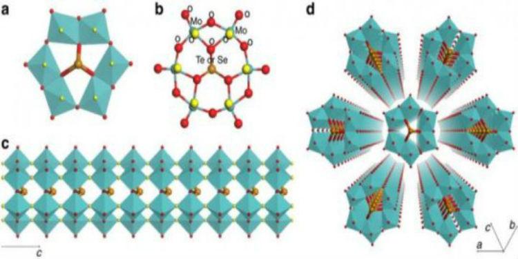 Ultra-İnce, Tamamen Anorganik Moleküler Nanotel Geliştirildi.!