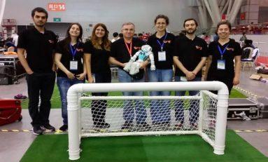 Boğaziçi Üniversitesi, Çin'de düzenlenen Uluslararası Robocup Yarışması'na katıldı