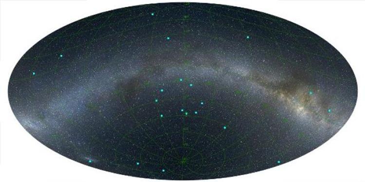 Evrendeki En Büyük Yapı Keşfedildi
