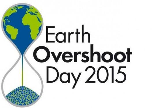 14 Ağustos itibarıyla tamamen insanlar olarak tüketmiş olduğumuz yıllık kaynaklar tüm canlıların kullanımına sunulmuştu. (Logo Telif: Global Footprint Network)