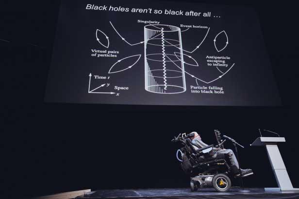 """""""Kara delikler çok da kara olmayabilir"""" (Fotoğraf: Adam af Ekenstam)"""
