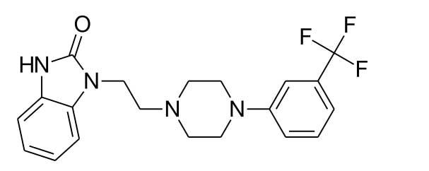 Flibanserinin kimyasal yapısı