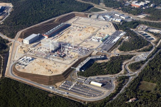 ITER site August 2015