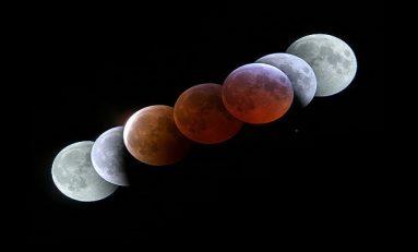 """Bu Gece Meydana Gelecek Olan """"Kanlı Tam Ay"""" Tutulması Nedir?"""