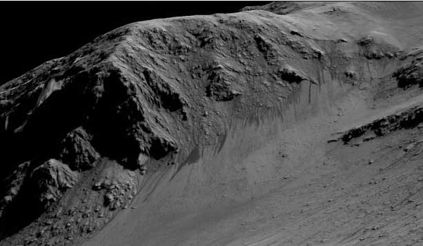 Horowitz Kraterinde benzer görünümler