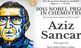 Nobel Kimya Ödülü Aziz Sancar'ın