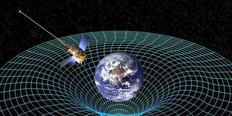 Einstein'ın genel görelilik kuramı, Dünya çevresindeki uzay-zamanın eğrilmekle kalmayıp, gezegenin dönüşü nedeniyle burgulanacağını da öngörmüştür. NASA'nın Gravity Probe B adlı uzay aracı bunun doğruluğunu kanıtladı.