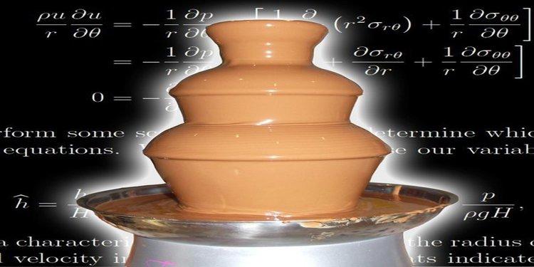 Çikolata Çeşmesinin Fiziği