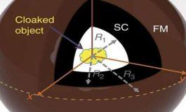 Manyetik Görünmezlik Pelerini Tasarlandı