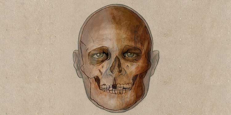 Bugünkü İspanya'da bulunan kalıntılardaki DNA, bireyin koyu bir tene, koyu renk saçlara ve bunlarla birlikte mavi gözlere sahip olduğunu gösteriyor.