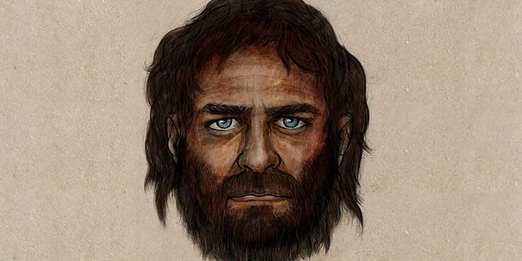 Siyah saçları, esmer bir teni olan La Brana 1, aynı zamanda da çarpıcı mavi gözlere sahipti.
