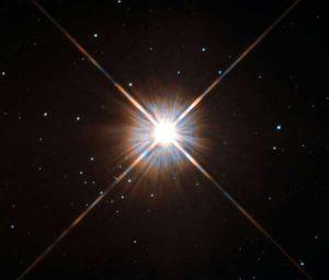 Proxima Centauri Görsel: Hubble Uzay Teleskobu. ESA / Hubble & NASA -