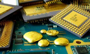 Elektronik Atıklarda Altın Madenciliği