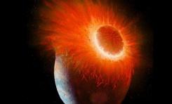 Yeni Araştırmaya Göre, Dünya İki Gezegenin Birleşmesiyle Oluştu
