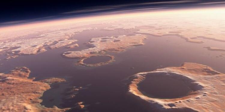 Bir Zamanlar Mars'ta: Tsunamiler