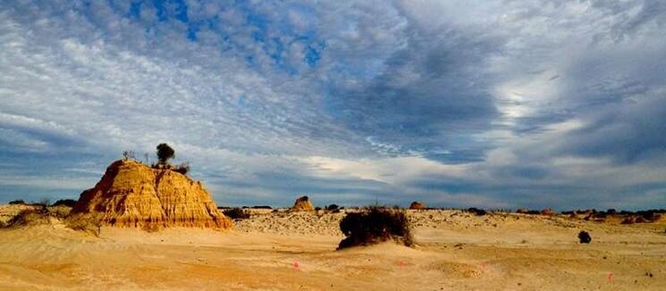 ake Mungo World Heritage Site. Credit: Sherene Lambert (St Augustine's College, Ipswich, Australia)