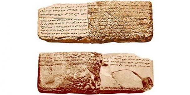 Müziksel gösterimleri içeren yaklaşık 3400 yıllık tablet