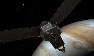 Juno Jüpiter'in Kapısını Çalıyor