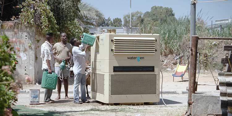 Havadan, Temiz İçme Suyu Üreten Cihaz Geliştirildi