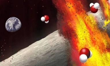 Ay'ın Kabuğunun Altında Sandığımızdan Daha Fazla Su Olabilir