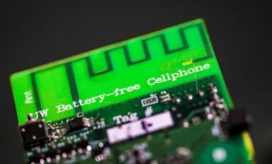 Bataryasız Çalışabilen Cep Telefonu Geliştirildi